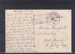 Allemagne - Empire - Carte Postale De 1915 - Oblit Neuburg - Feldpost - Vue De Neuburg - Allemagne