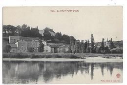 01  -  CPA  De  Le  HAUT  PONT D ' AIN  - - France