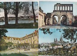 20 / 3 / 404. -  AUTUN  ( 71  ).  LOT  DE 9   C P M   - TOUTES SCANÉES - Cartes Postales