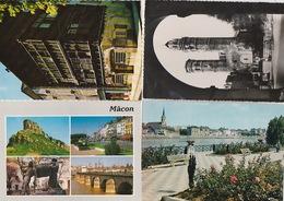 20 / 3 / 405. -  MACON  ( 71 )    4   C P M  DIVERSES - Cartes Postales