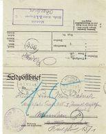 Allemagne - Empire - Lettre Feldpost De 1917 - Oblit München - - Allemagne