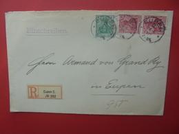 DEUTSCHES REICH-EUPEN 1903 - Allemagne