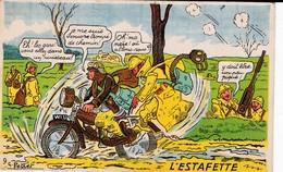 G. PETRET L'ESTAFETTE  ACHAT IMMEDIAT - Humour