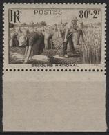 FR 1397 - FRANCE N° 466 Neuf** BDF Moisson - France