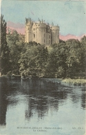 49 - MONTREUIL BELLAY - Le Château   (colorisé) 230 - Montreuil Bellay