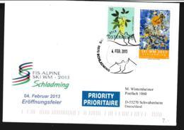 Austria Cover Schladming 2013 FIS Alpine Ski WM - Opening Ceremony (G110-15) - Ski
