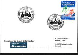 Italy Cover Cavalese 2013 Campionati Del Mondo Di Sci Nordico FIS (G110-15) - Ski