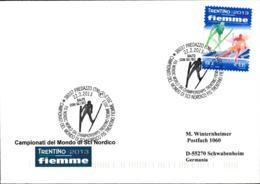 Italy Cover Predazzo 2013 Campionati Del Mondo Di Sci Nordico FIS (G110-15) - Ski