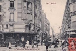 TOUT PARIS     LA RUE DU CHATEAU D EAU AU FAUBOURG SAINT MARTIN - Distretto: 10