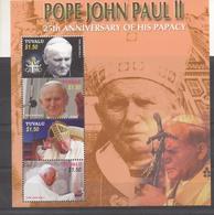 Le Pape Jean-Paul II -Pope John Paul II-2004- XXX - Tuvalu