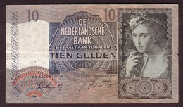 PAYS BAS - 1o Gulden Du 18 08 1941 ( + Autres Dates ) - Pick 56b - [2] 1815-… : Koninkrijk Der Verenigde Nederlanden