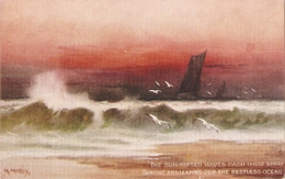 """""""M. Morris. What Are The Wild Waves Saying?"""" Tuck Oikette PC # 2826 - Tuck, Raphael"""