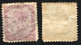 Colonie Anglaise, Prince Edouard, Victoria, N°9 Oblitéré, Qualité Beau - Prince Edward (Island)