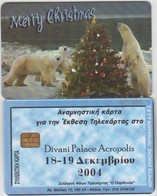 GREECE - Merry Christmas/Polar Bears , Exhibition In Athens(Parthenon Club), Tirage 500, 12/04 - Griechenland