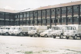 SARAJEVO CAMIONS MILITAIRES DE L IFOR 1996  ACHAT IMMEDIAT - Bosnia And Herzegovina