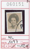 Niederlande - Nederland - Pays-Bas - Michel 1197 - Oo Oblit. Used Gebruikt - Period 1980-... (Beatrix)