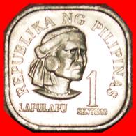 · SHIP 1949: PHILIPPINES ★ 1 SENTIMO 1975 SLAYER OF MAGELLAN★UNC MINT LUSTER! LOW START ★ NO RESERVE! - Filippijnen