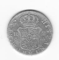 2 Réales 1800 Madrid FA  TB/TTB - Collections