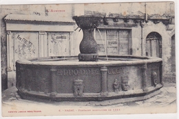 Najac Fontaine Monolithe De 1344 L Aveyron - Najac