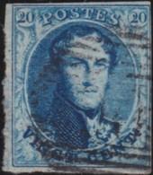 Belgie     .    OBP        .     7      .      O      .       Gebruikt  .   /    .    Oblitéré - 1851-1857 Medaillons (6/8)