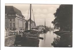Ansichtskarte , Oldenburg , Hafen - Oldenburg