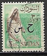 SOUDAN   -   Timbre De Service  -   Récolte Du Coton Oblitéré,  Surchargé - Soudan (1954-...)
