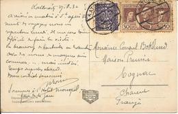 Pologne Carte Postale 1932 KATOWICE (la Grande Place Avec Theâtre) - 1919-1939 Republic