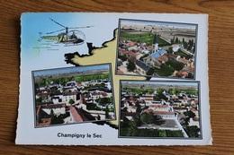 Champigny Le Sec Multivues Aériennes 056CP04 - France