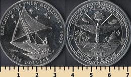 Marshall Islands 5 Dollars 1992 - Marshall Islands
