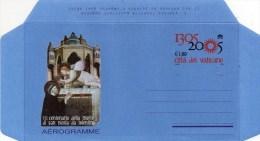 PIA  -  VATICANO - 2005 : 700° Della Morte Di San Nicola Da Tolentino - Aereogramma (FIL A 43) - Vatican