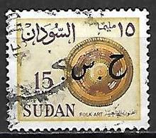 SOUDAN   -   Timbre De Service  -   Art  Oblitéré,  Surchargé - Soudan (1954-...)