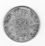 2 Réales 1808  Séville CN  TTB - Colecciones