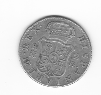 2 Réales 1802 Madrid FA  TTB - Collections