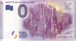 .. BILLET 2015 -1 ... GROTTE DE LA COCALIERE .. UEAT004418 ... - EURO