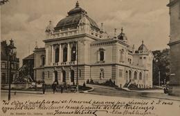 Rendsburg // Stadt Halle Mit Springbrunnen 1903 - Rendsburg