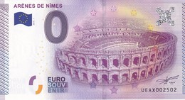 .. BILLET 2015 -1 ... ARENES DE NÎMES ...UEAX002502 ... - EURO