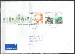 Greenland 2010.  Ordinary Mail Sent To Denmark. - Groenland