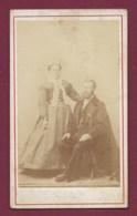 280320 - Photo Richay CDV Alger - Couple Homme Barbu - Alger
