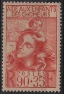 FR 1419 - FRANCE N° 428 Neuf* Oeuvre Des Enfants Des Chômeurs - France