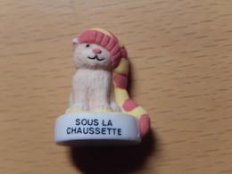 CHAT  - SOUS LA CHAUSSETTE - Dieren