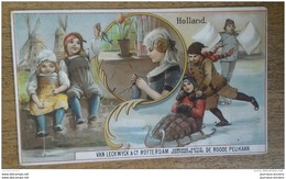 CAFÉ - LECKWYCK & Co - ROTTERDAM - DE ROODE PELIKAAN - HOLLAND - 12,5 X 7,5 Cm - Old Paper