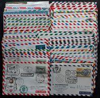 BALLONPOST 1964-1989, Partie 78 Belege, Einige Mit Ausländischen Frankaturen - Balloon Covers