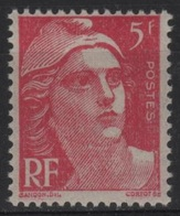 FR 1423 - FRANCE N° 719A Neuf** Marianne De Gandon - 1945-54 Marianne De Gandon