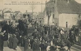 Cavalcade à Dole 9/3/1913 . Char Des Gaulois .  Attelage 6 Chevaux . Druide. Celtes . - Manifestations