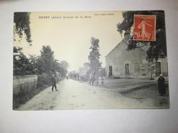 FRANCE DOYET - AVENUE DE LA GARE - 1912 - France