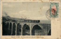 St. Leu - Un Train Passant Sur Le Pont De La Grande Ravine - La Réunion