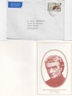 LETTRE AVEC CORRESPONDANCE. FULL LETTER. CENTRE PIERRE LAVAL PORT LOUIS - Maurice (1968-...)