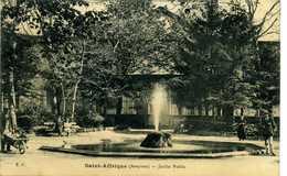 12 - SAINT AFRIQUE - Jardin Public; - Saint Affrique