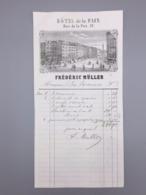 PARIS HOTEL DE LA PAIX FREDERIC MULLER - France