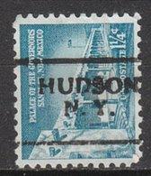 USA Precancel Vorausentwertung Preo, Locals New York, Hudon 632-701 - Vereinigte Staaten